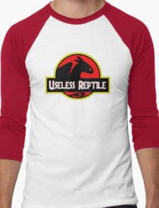 Toothless - Useless Reptile Men's Baseball ¾ T-Shirt
