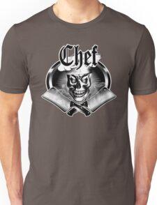 Chef Skull and Smoking Cleavers 3.1 Unisex T-Shirt