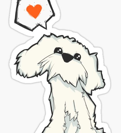 The Dog That Loves Sticker