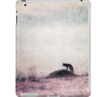 I only hear silence iPad Case/Skin