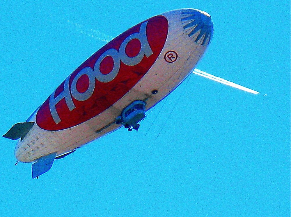Blimp and Plane by Tommy Seibold