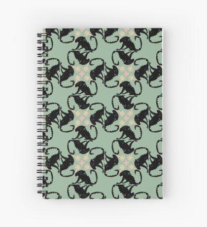 Xenomorph Cycle Spiral Notebook