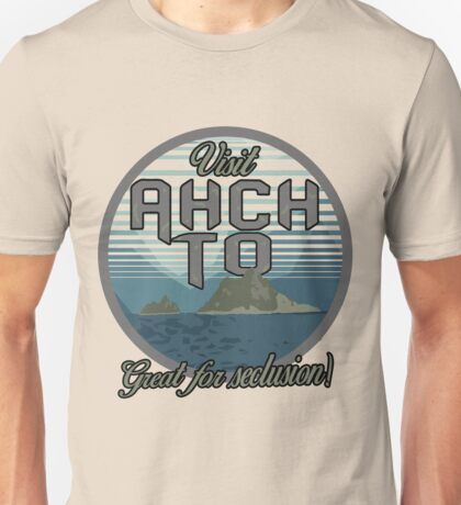 Visit Ahch-To! Unisex T-Shirt