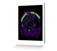 Rainbow in the Night Greeting Card