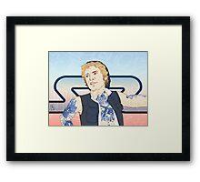 Han Yolo Framed Print