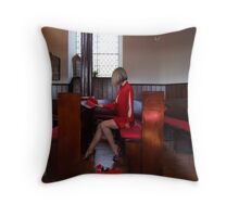 Miss Goody Two Shoes Throw Pillow