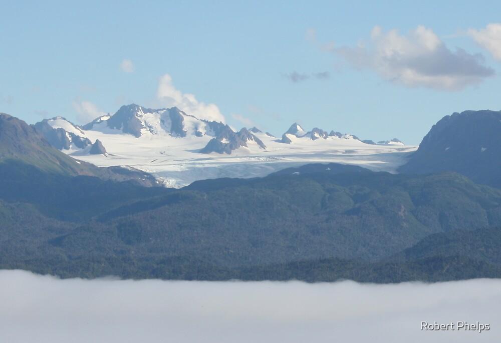 Heavens Glacier by Robert Phelps