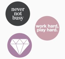 boss lady (set of 3 stickers) by alexwein