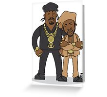 Evolution Of The B-Boy – Eric B & Rakim Greeting Card