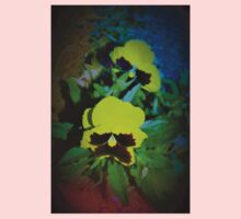 Colorful pansy dance One Piece - Short Sleeve