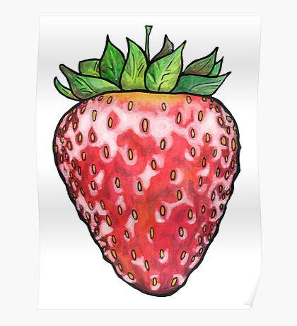 Strawberry Shine Poster