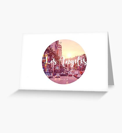 Los Angeles Calligraphy Greeting Card