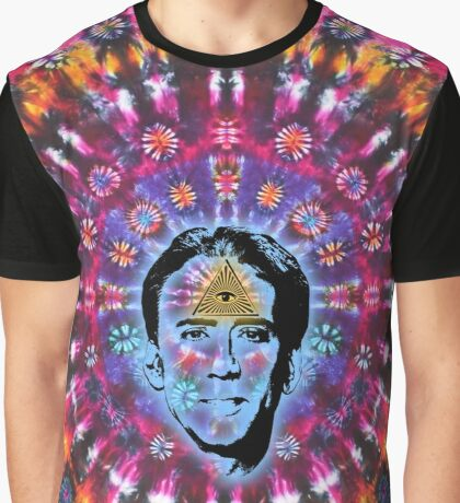 Nicolas Cage Third Eye - Tie Dye Shambhala II Graphic T-Shirt