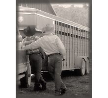 Howdy Partner Photographic Print
