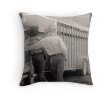 Howdy Partner Throw Pillow
