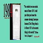 1984 OBrien explains Room 101 quote by KayeDreamsART