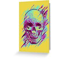 Bright Skull Greeting Card