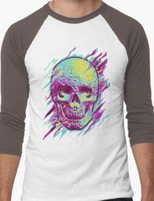 Bright Skull Men's Baseball ¾ T-Shirt