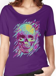 Bright Skull Women's Relaxed Fit T-Shirt