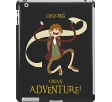It's time for Bilbo to go ON AN ADVENTURE! iPad Case/Skin