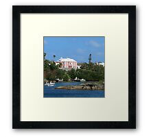 Little Cottage by the Sea Framed Print