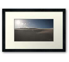 The Tranquil Dunes of Lancelin Framed Print