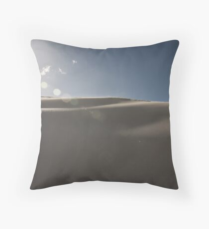 The Tranquil Dunes of Lancelin Throw Pillow