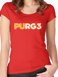 PURG3 RG3 Women's Fitted Scoop T-Shirt