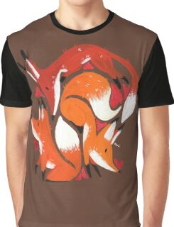 Fox Love  Graphic T-Shirt