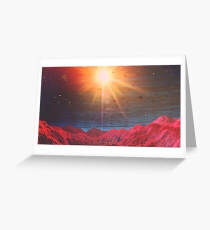 The Land of Fire (Night) Greeting Card