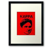 Kappa Guevara Framed Print