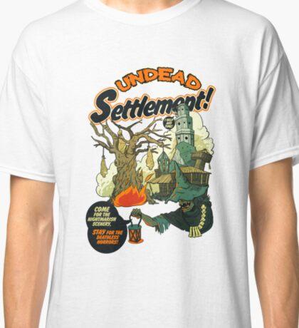 Undead Settlement Classic T-Shirt