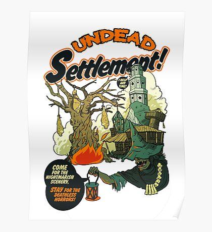 Undead Settlement Poster