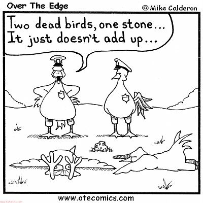 Two birds one stone by mcaldero