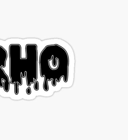 drippy rho Sticker