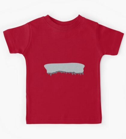 Glitch Ilmenskie Land cave topper 1a z1 Kids Tee