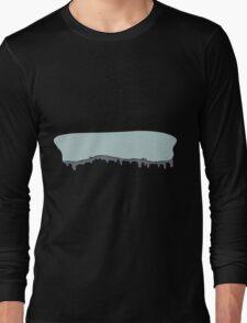 Glitch Ilmenskie Land cave topper 1a z1 Long Sleeve T-Shirt
