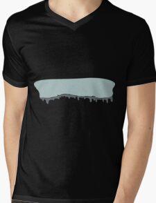 Glitch Ilmenskie Land cave topper 1a z1 Mens V-Neck T-Shirt