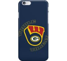 WinSconsin Triple Threat iPhone Case/Skin
