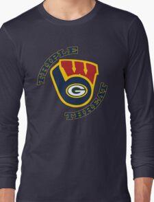 WinSconsin Triple Threat Long Sleeve T-Shirt