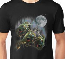 Mantis Shrimps Howling at the Full Moon Unisex T-Shirt