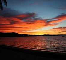 Fiji Island Sunrise 3 by Basa