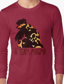 Pokemon / Team Magma Tee Long Sleeve T-Shirt