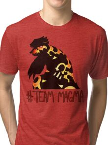 Pokemon / Team Magma Tee Tri-blend T-Shirt