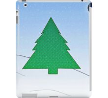 Wintery Scene iPad Case/Skin