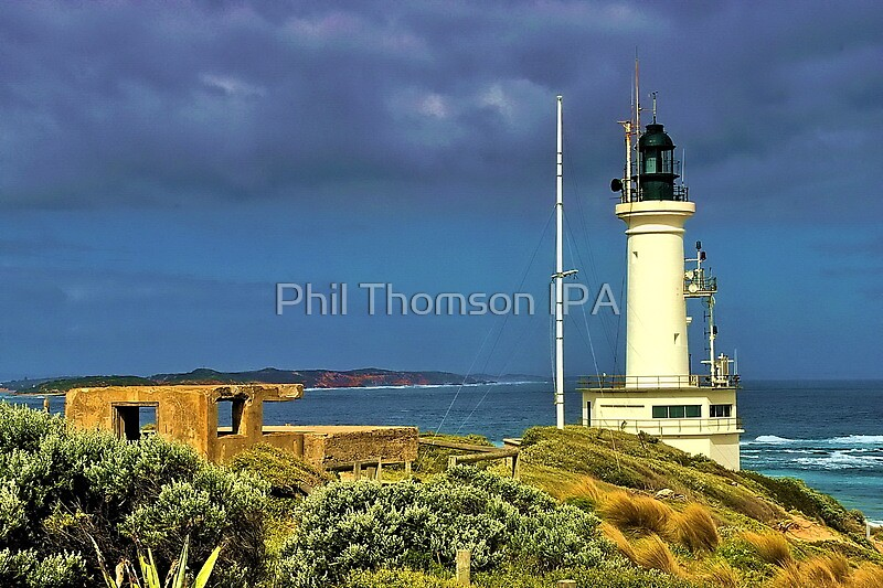 Another Windy Day at the Heads by Phil Thomson IPA