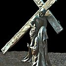 Ninth Station of The Cross  by Heather Friedman