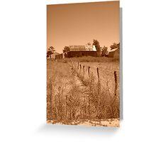 Retro Acres Greeting Card
