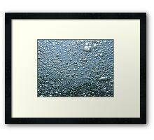 """Bubbles"" Framed Print"