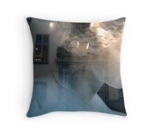 Grey Woman, Stockholm Throw Pillow
